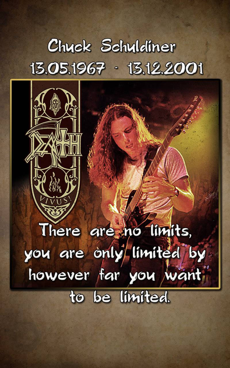 Chuck Schuldiner Wallpaper By Morth75 69 Free On Zedge