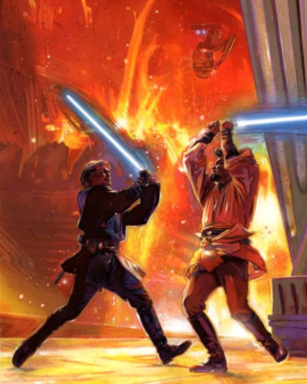 Anakin Vs Obi Wan Wallpaper By Darthbaren A5 Free On Zedge