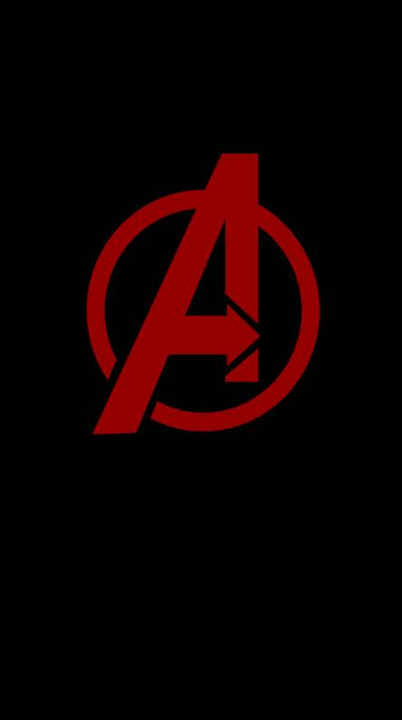avengers logo wallpapers free by zedge