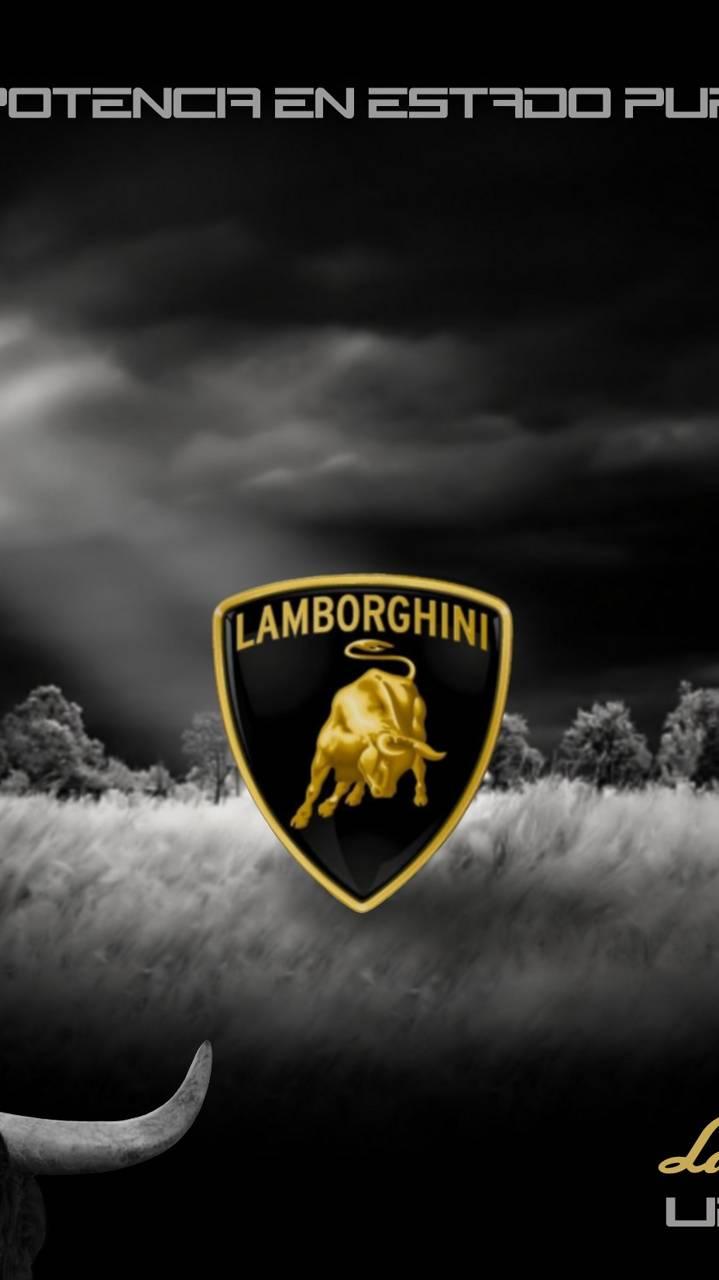 Lamborghini logo wallpaper by