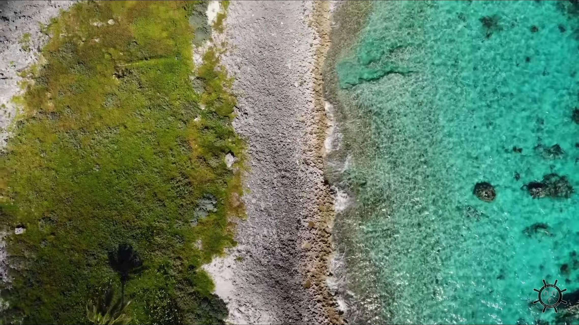 drone 4k sea