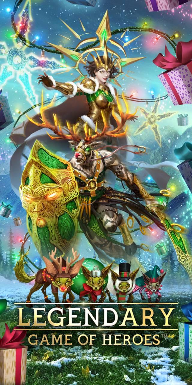 Festive Warrior