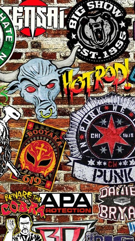 WWE logos