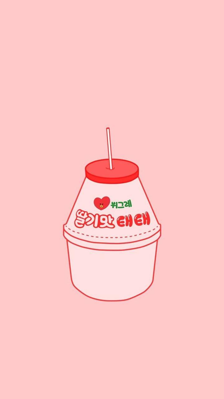 Strawberry Milk Wallpaper By Cherrycola69 B4 Free On Zedge