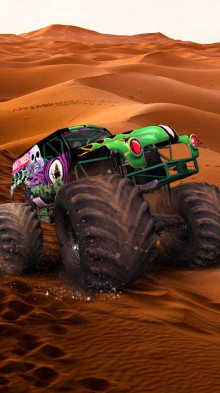 Monster Trucks Wallpapers Free By Zedge