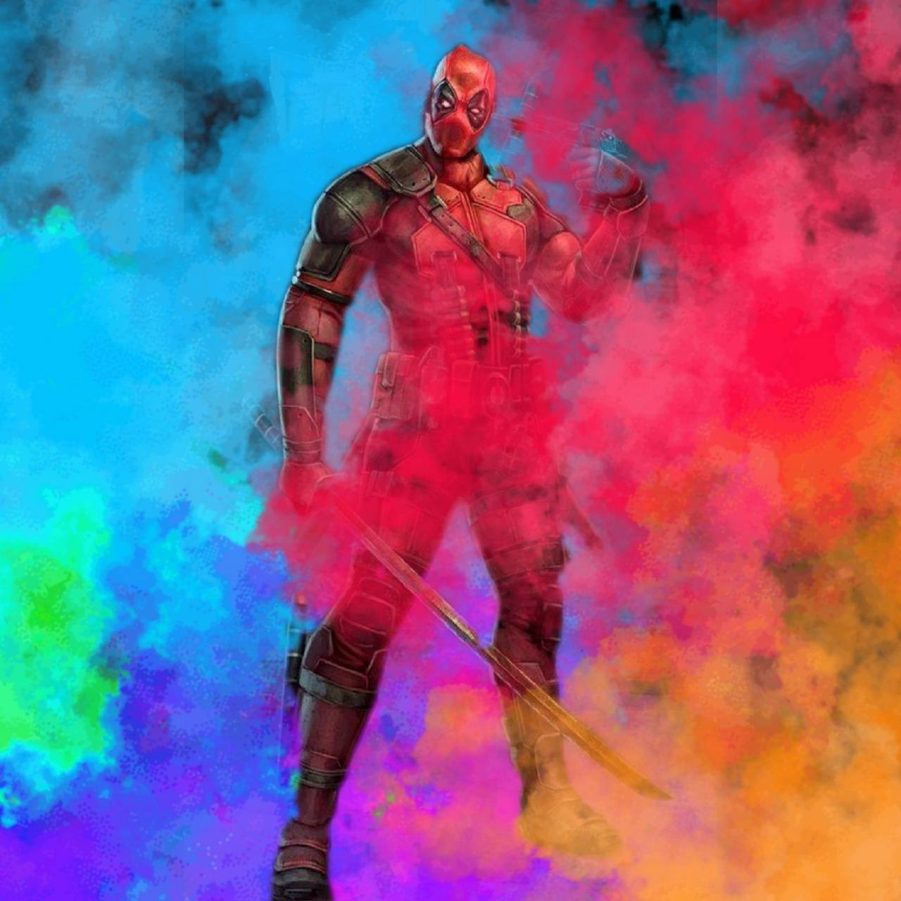 Deadpool Smoke