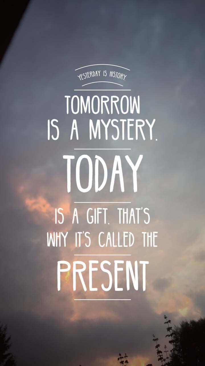 Today is a gift