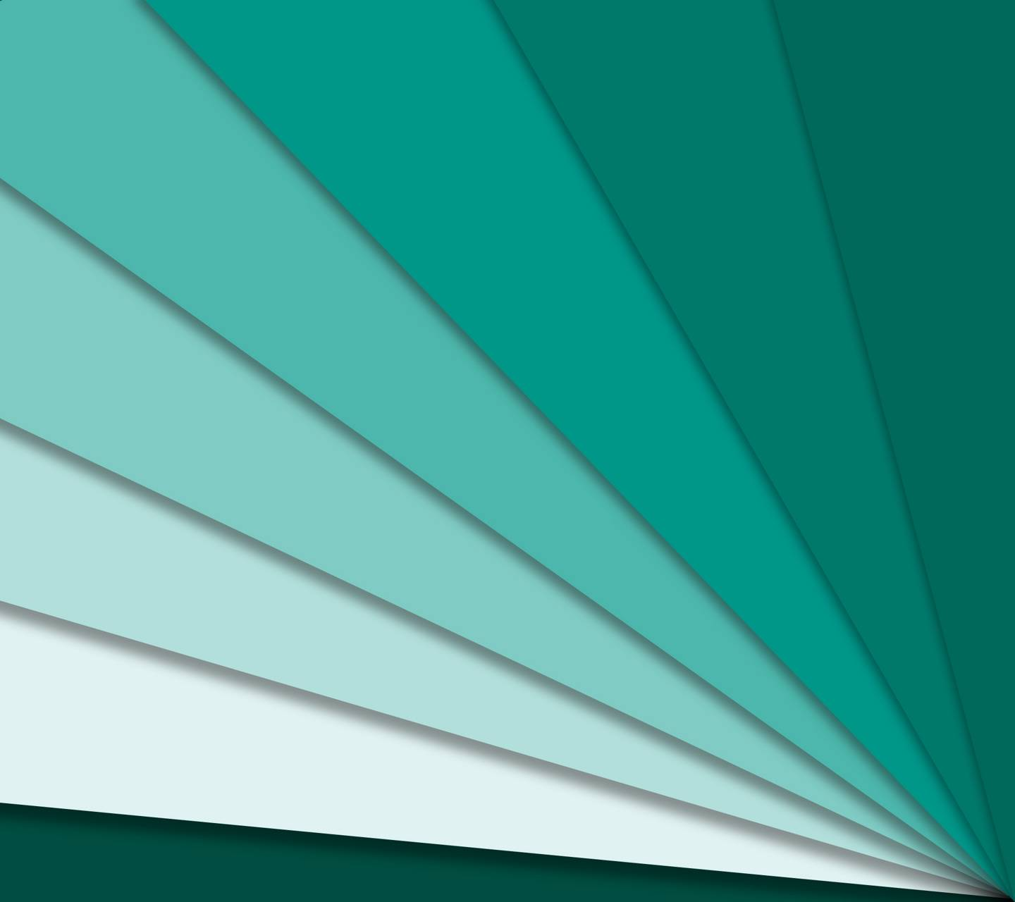 Teal Material Beams