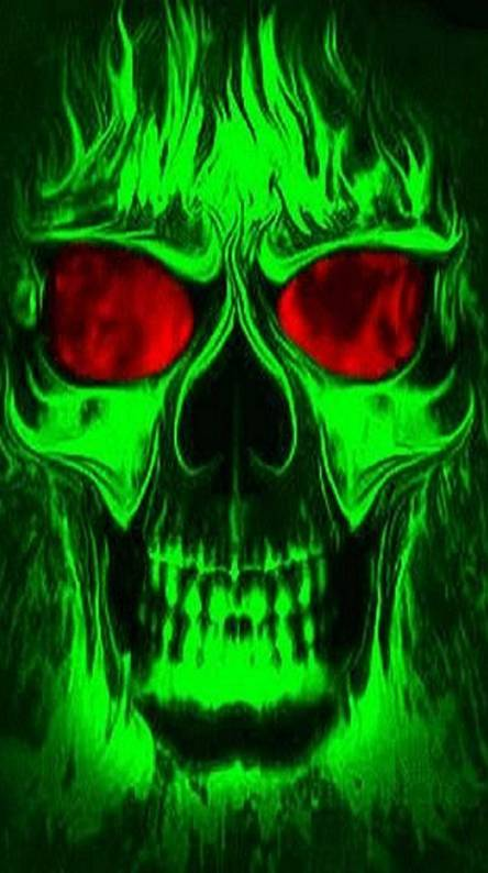Neon skull Wallpapers - Free by ZEDGE™
