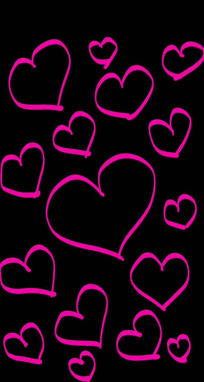 Pink Hearts Wallpaper By Loveurhunny 2d Free On Zedge