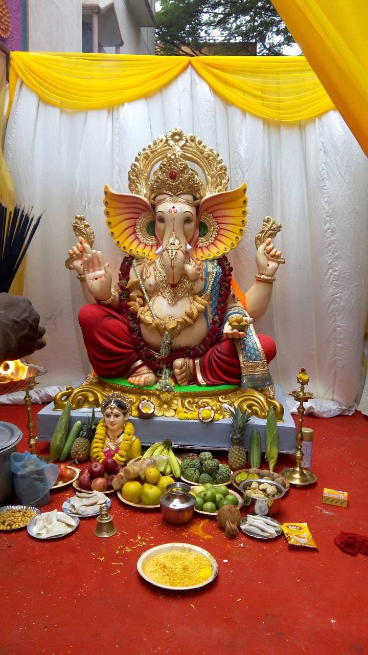 Spiritual ganesha