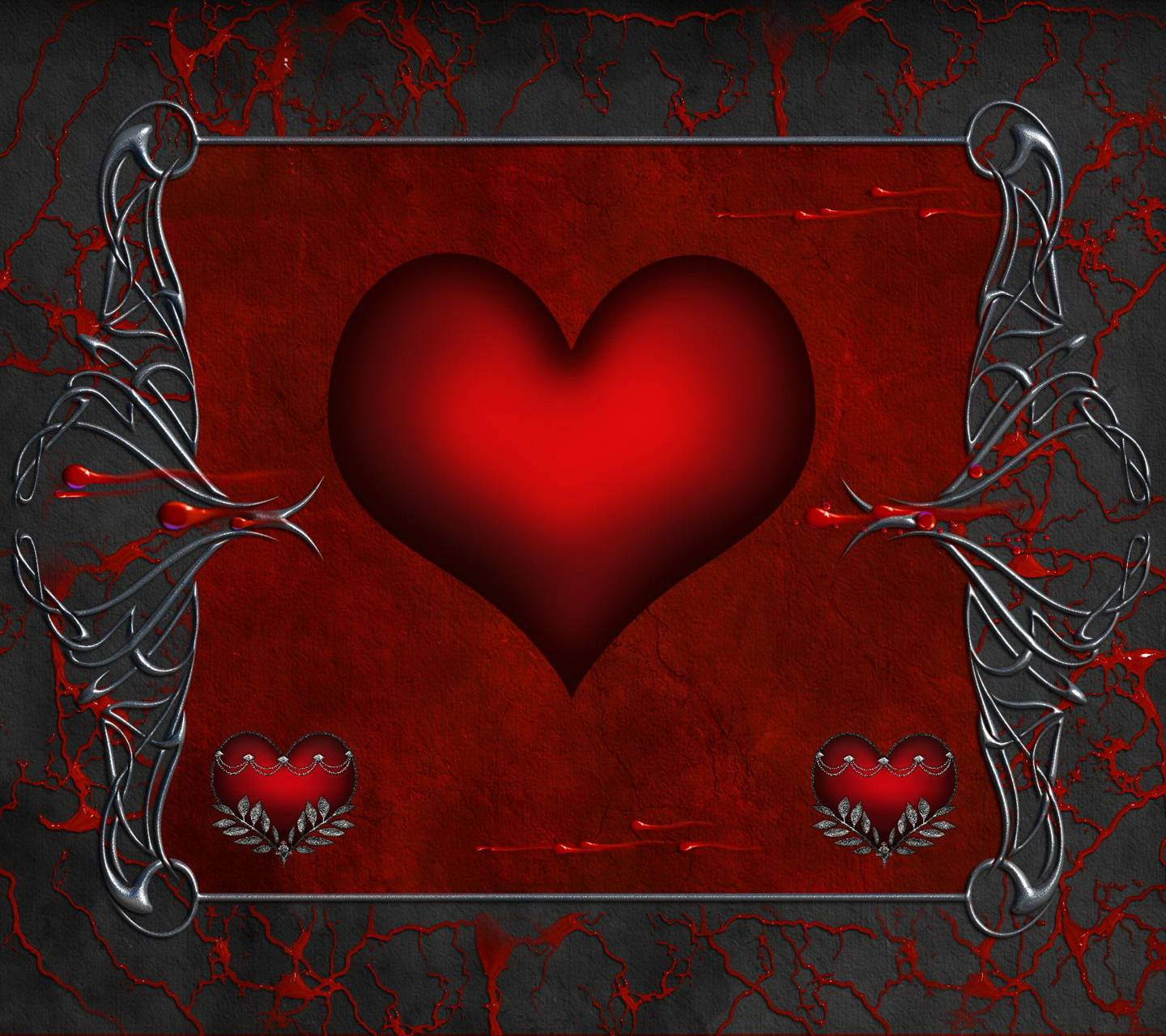 gothic heart pictures - HD 1440×1280