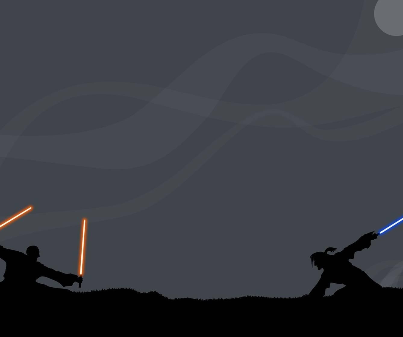 Silouette Jedi