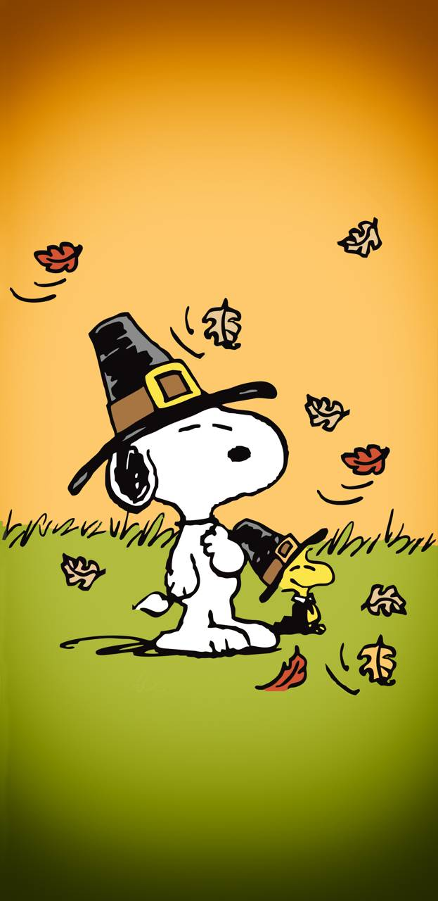 Snoopy Thanksgiving Wallpaper By Wraithdude 35 Free On Zedge