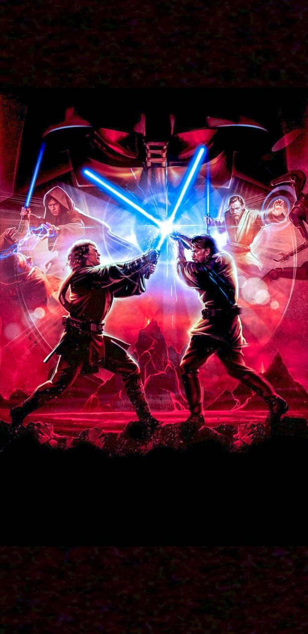 Anakin Vs Obi Wan Wallpaper By Tronix05 9a Free On Zedge