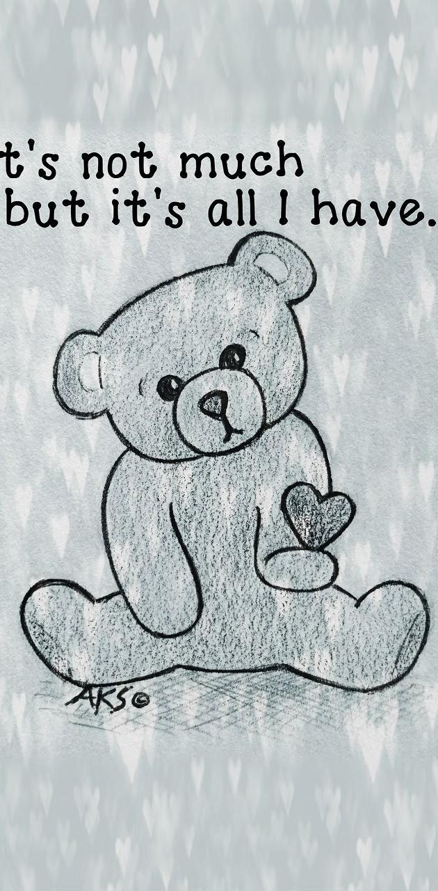 Emo Heart Bear