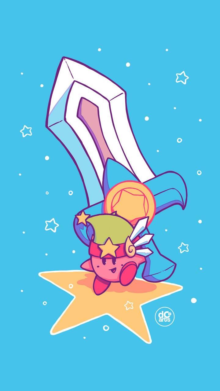Blue Kirby Sword