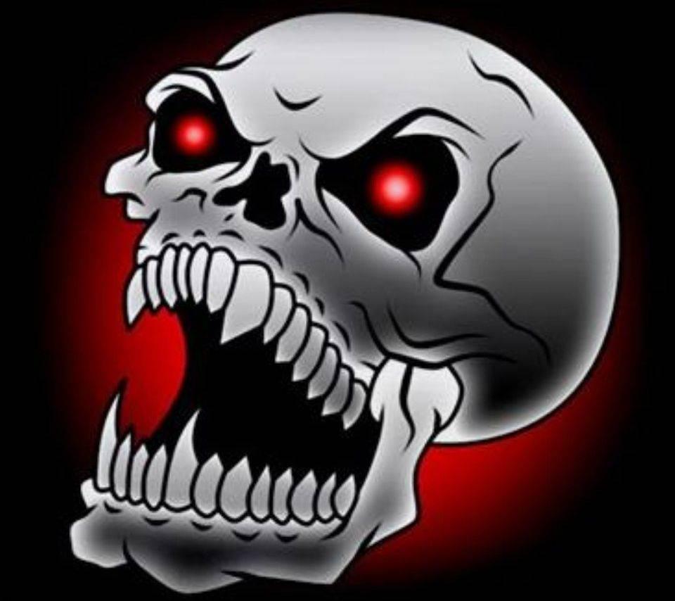 Red Eyes Skull