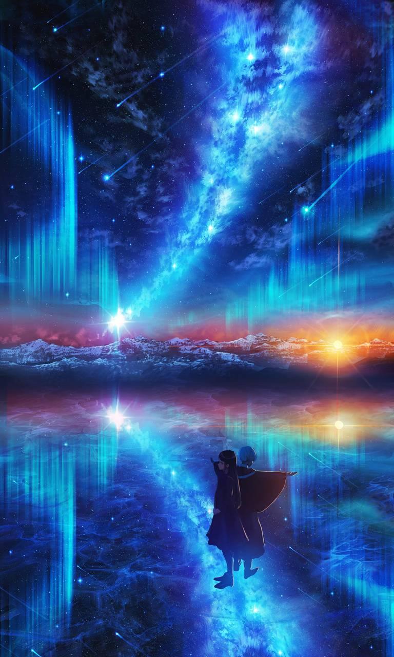 Anime Night Sky Wallpaper By Rafi18169 9d Free On Zedge
