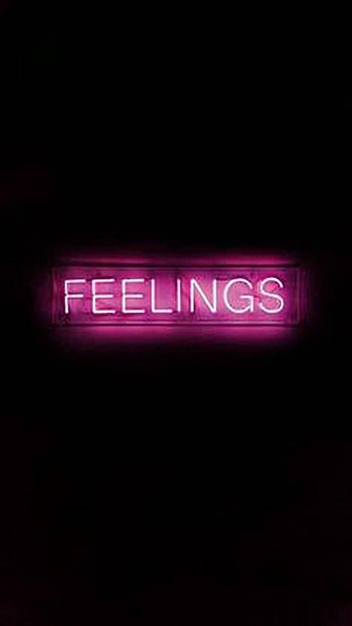 feelings blacn neon
