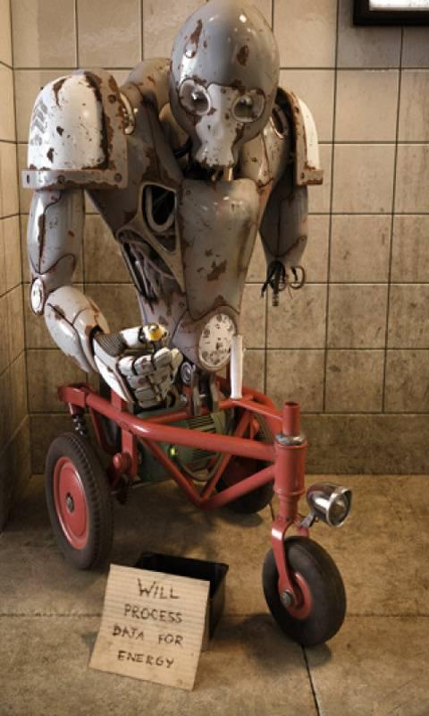 Laid Off Robot