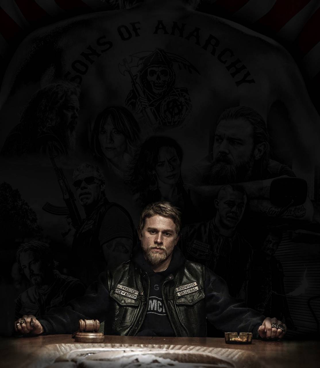 Sons Of Anarchy Wallpaper By Granatographics17 Fe Free On Zedge