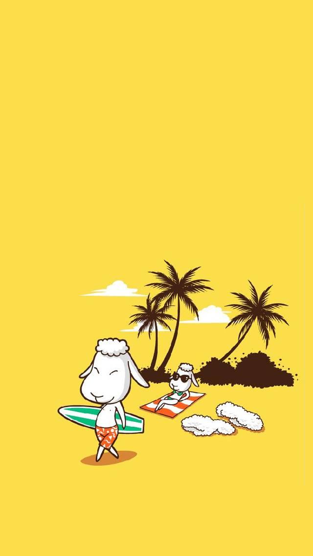Sheep surfer