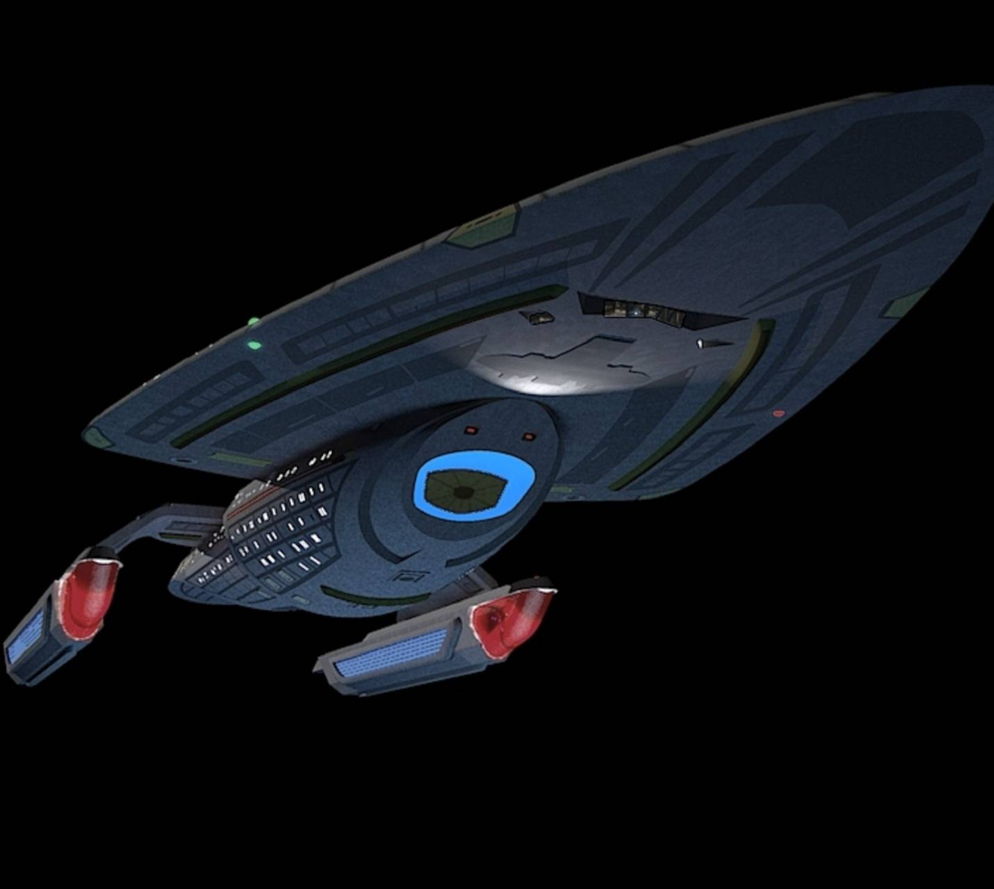 Uss Voyager Prototyp Wallpaper By Calamitysi 2c Free On
