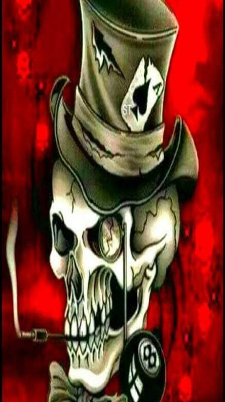 hustler skull