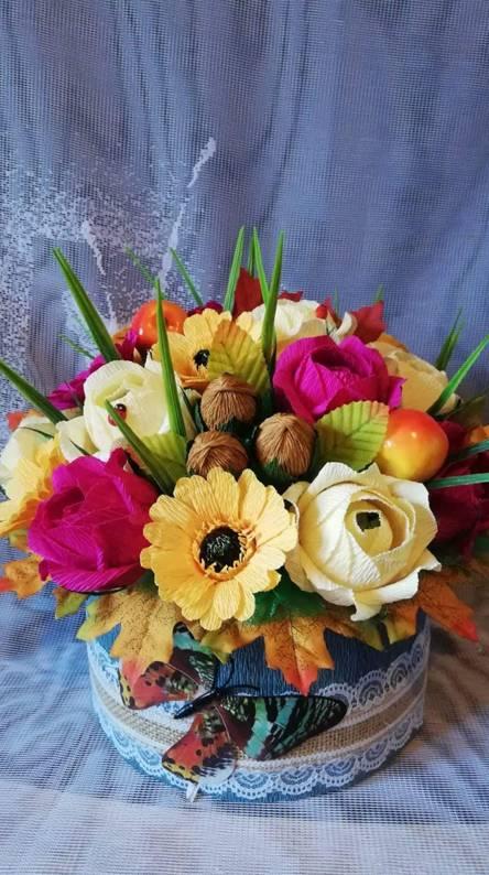 Flowers w candys