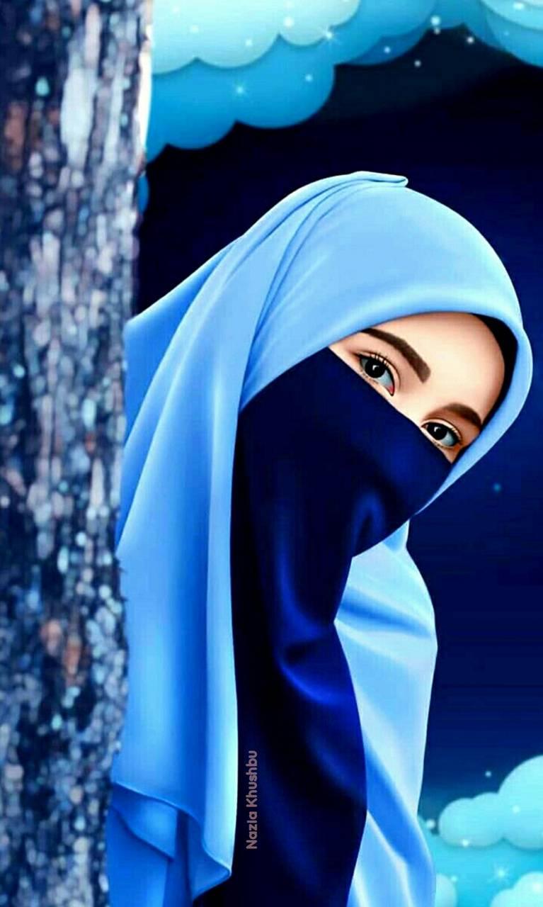 Islamic hijab girl
