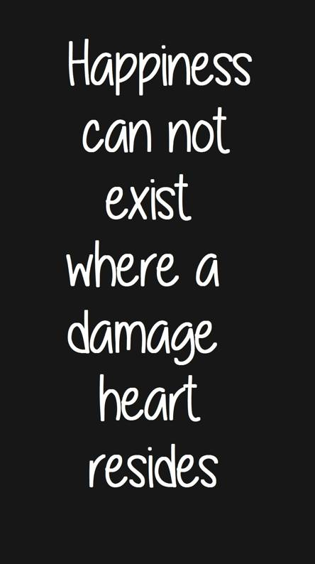 damaged heart