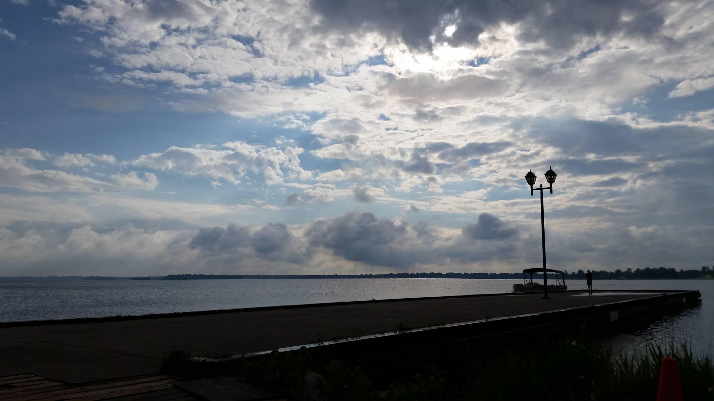 Cloudy Docks