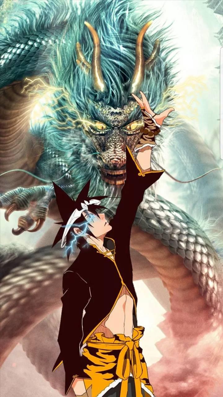 Jin mori and Dragon