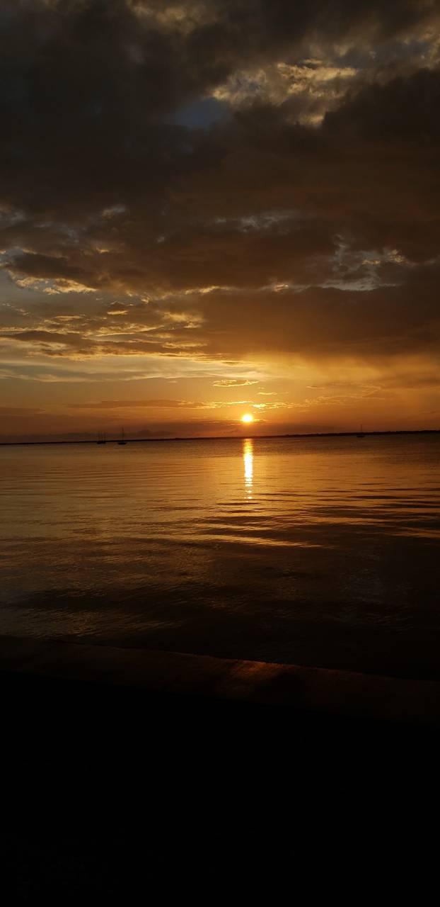 P***a gorda sunset
