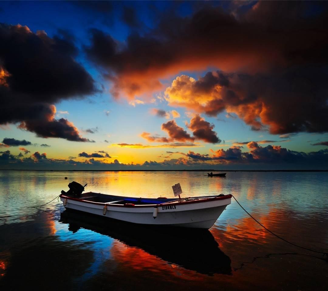 Beautiful boat view