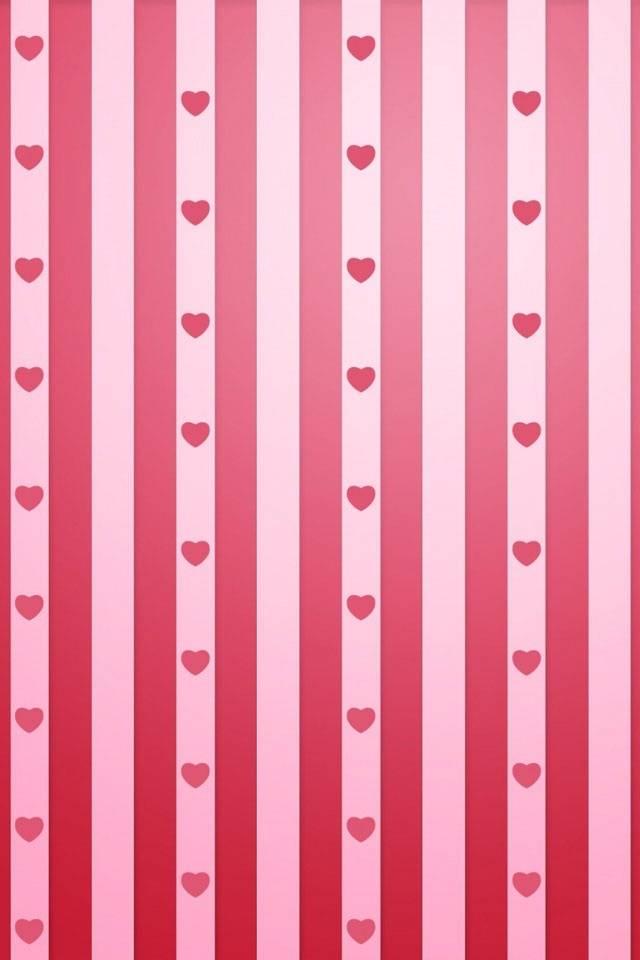 Heart N Red Stripes