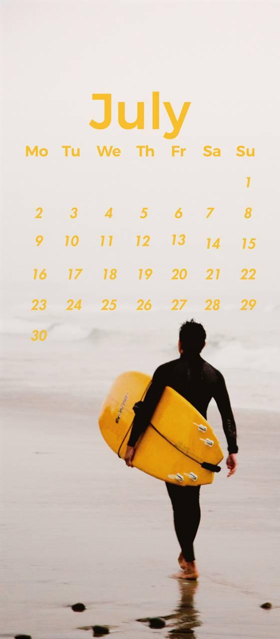 July Surfer