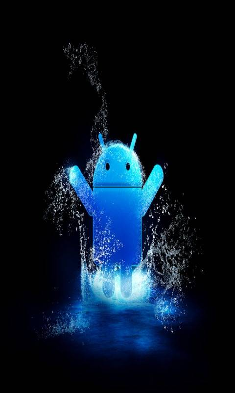 Blue Android Hd