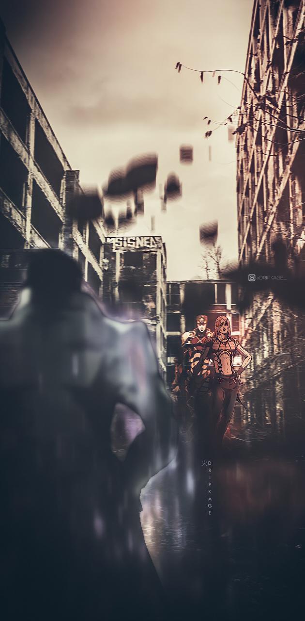 Jotaro vs Diavolo