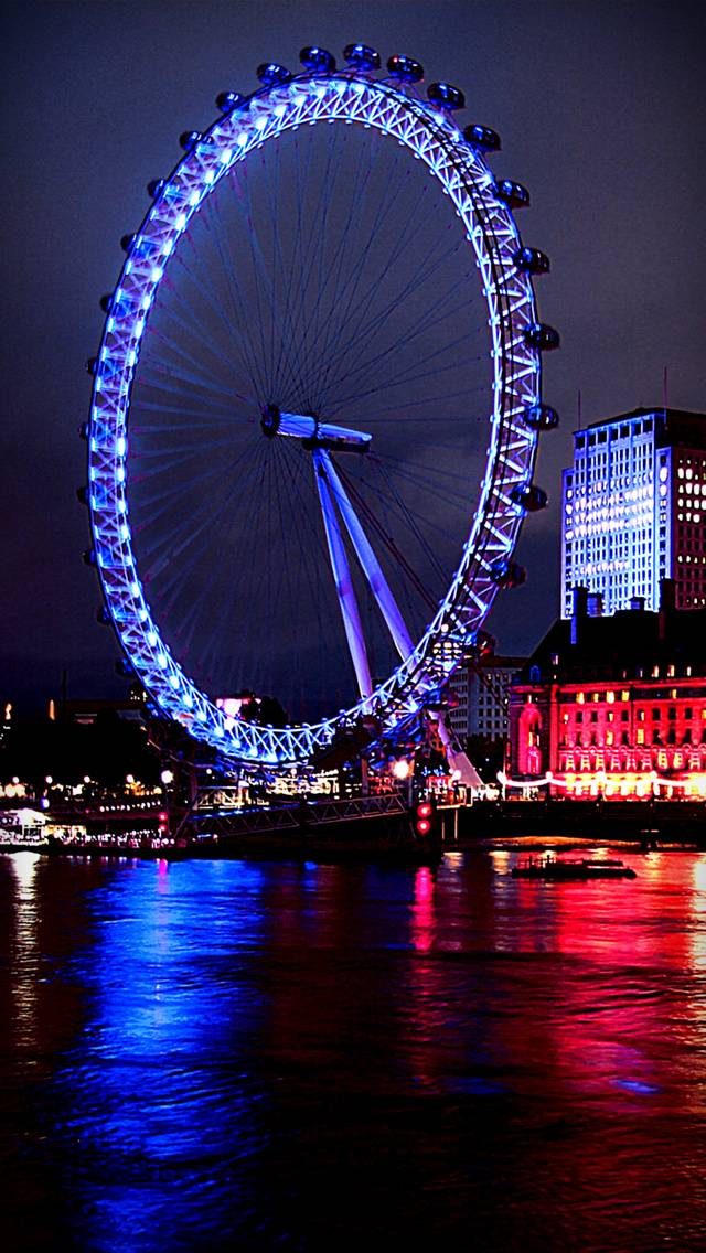 Blue London Eye
