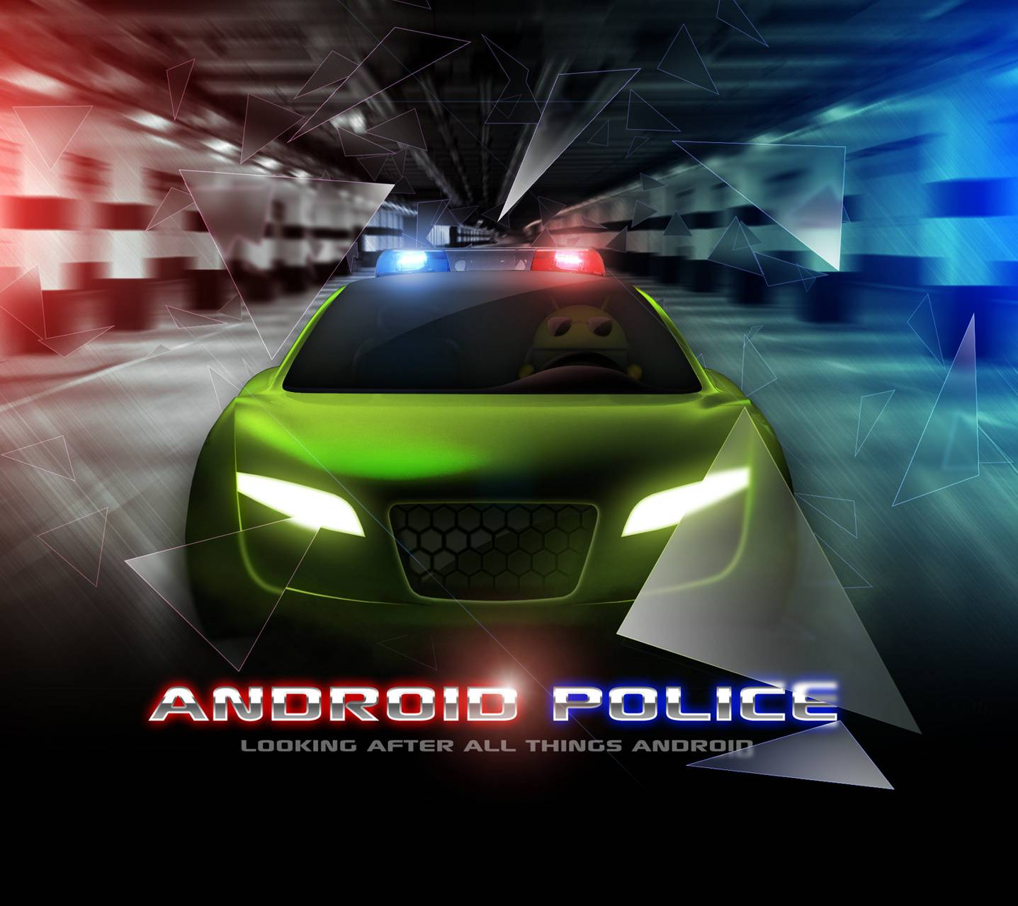 Android Police Car