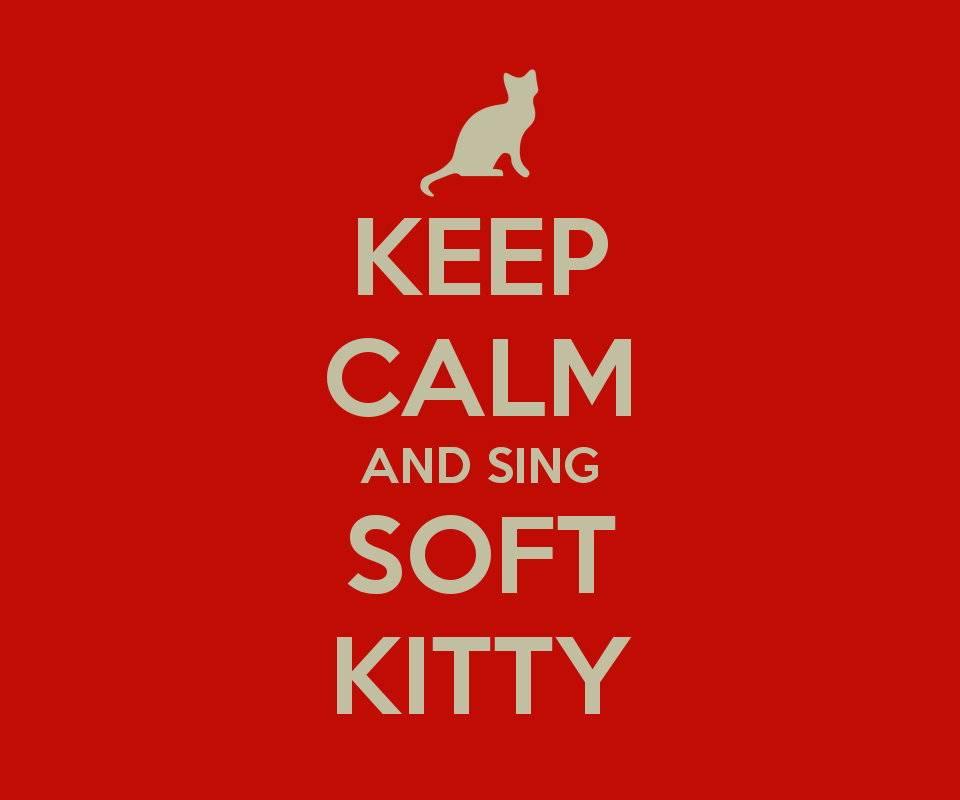 Keep Calm Soft Kitty