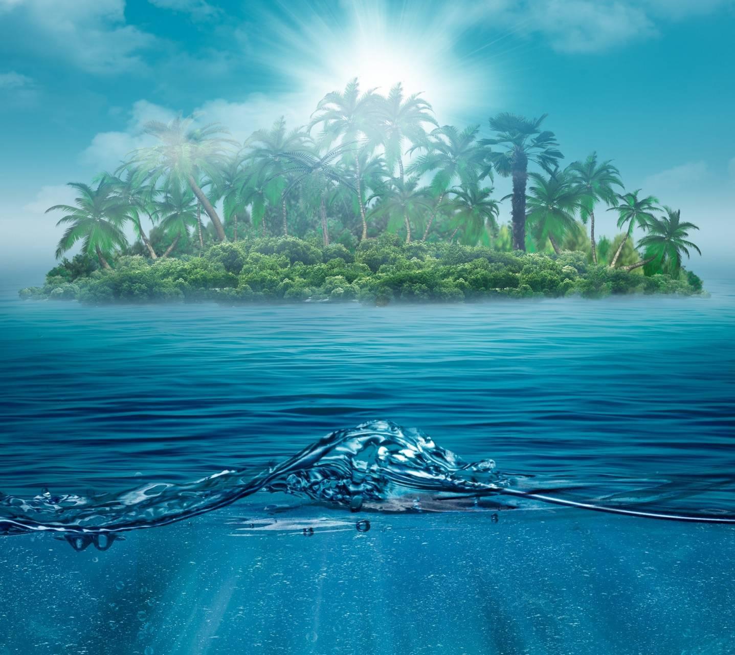 lonely island ocean