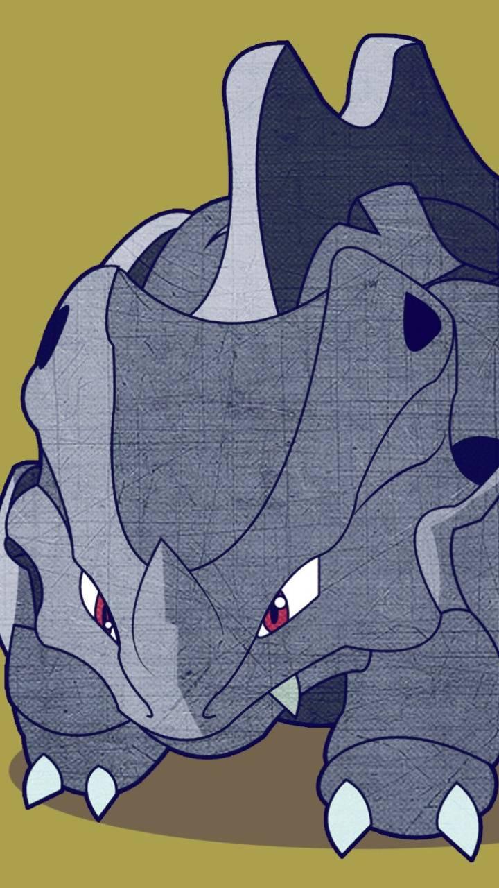 Pokemon rhyhorn
