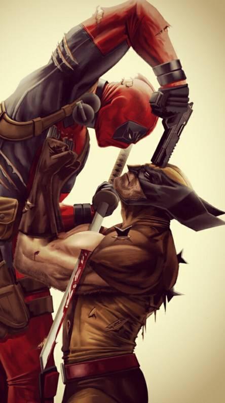wolverine vs deadpoo