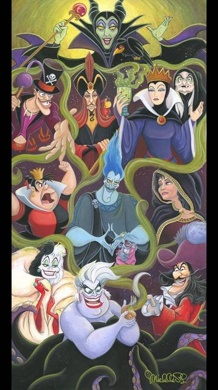 Disney Villains Wallpapers Free By Zedge