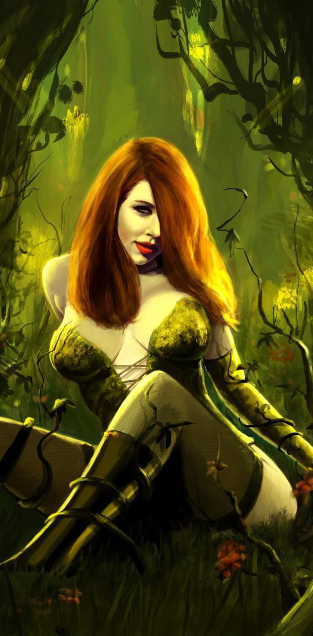 Poison Ivy Sitting