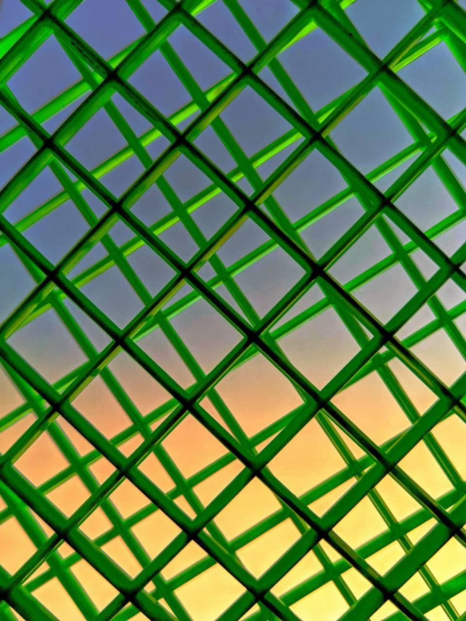 Evening through net