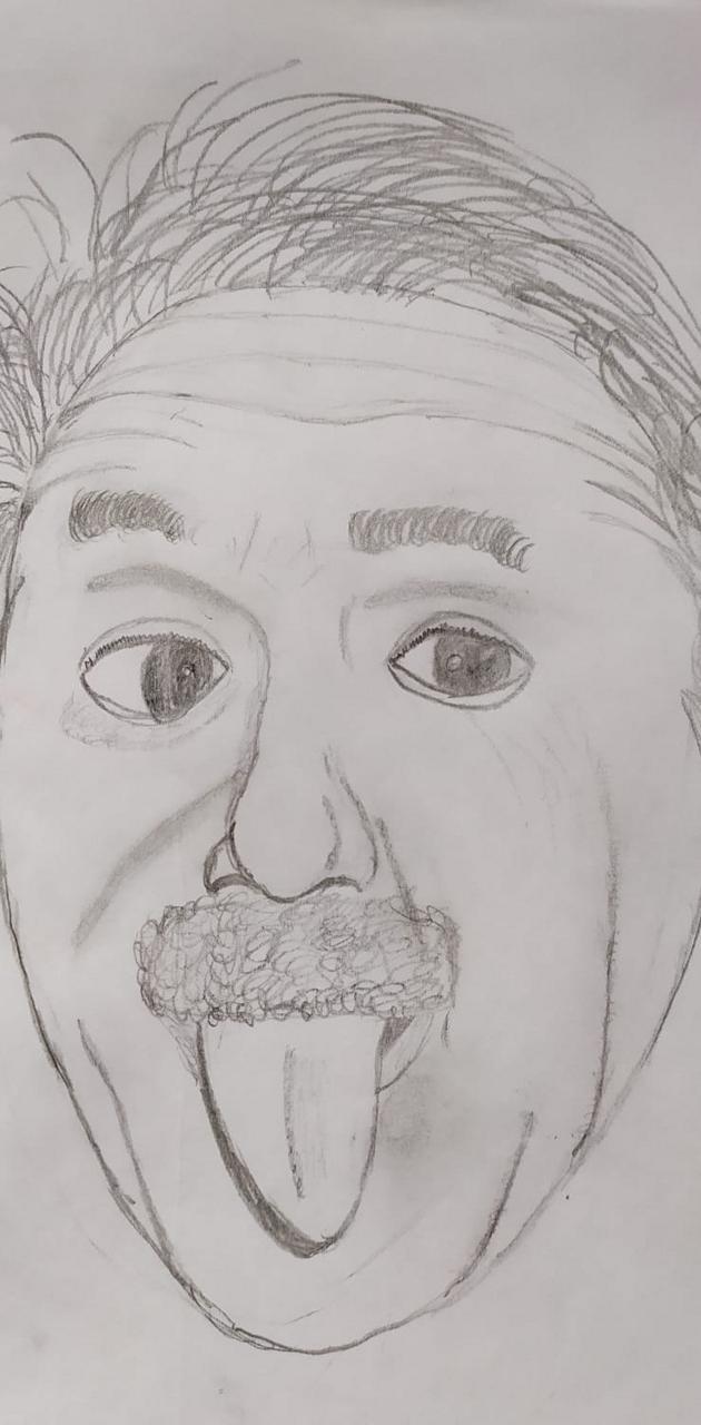 Einstein draw